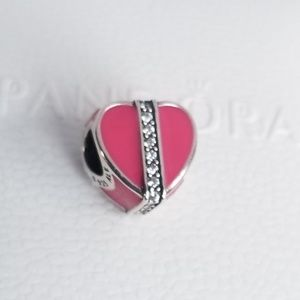 Pandora Jewelry - Pandora Gifts of Love, Magenta Enamel & Clear CZ